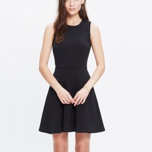 Madewell Black Lace Inset Everywhere Dress 4